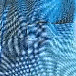 Marks & Spencer Shirts - Marks & Spencer solid blue button down, size 17